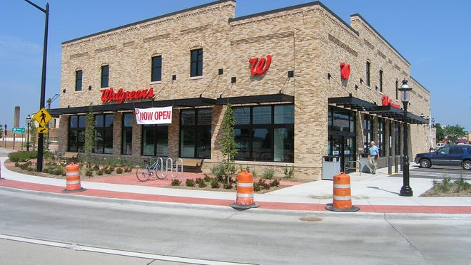 Walgreens opened its new De Pere store Friday at Broadway and South Wisconsin Street. The store includes a lighter, more open format than other Walgreens in the area.