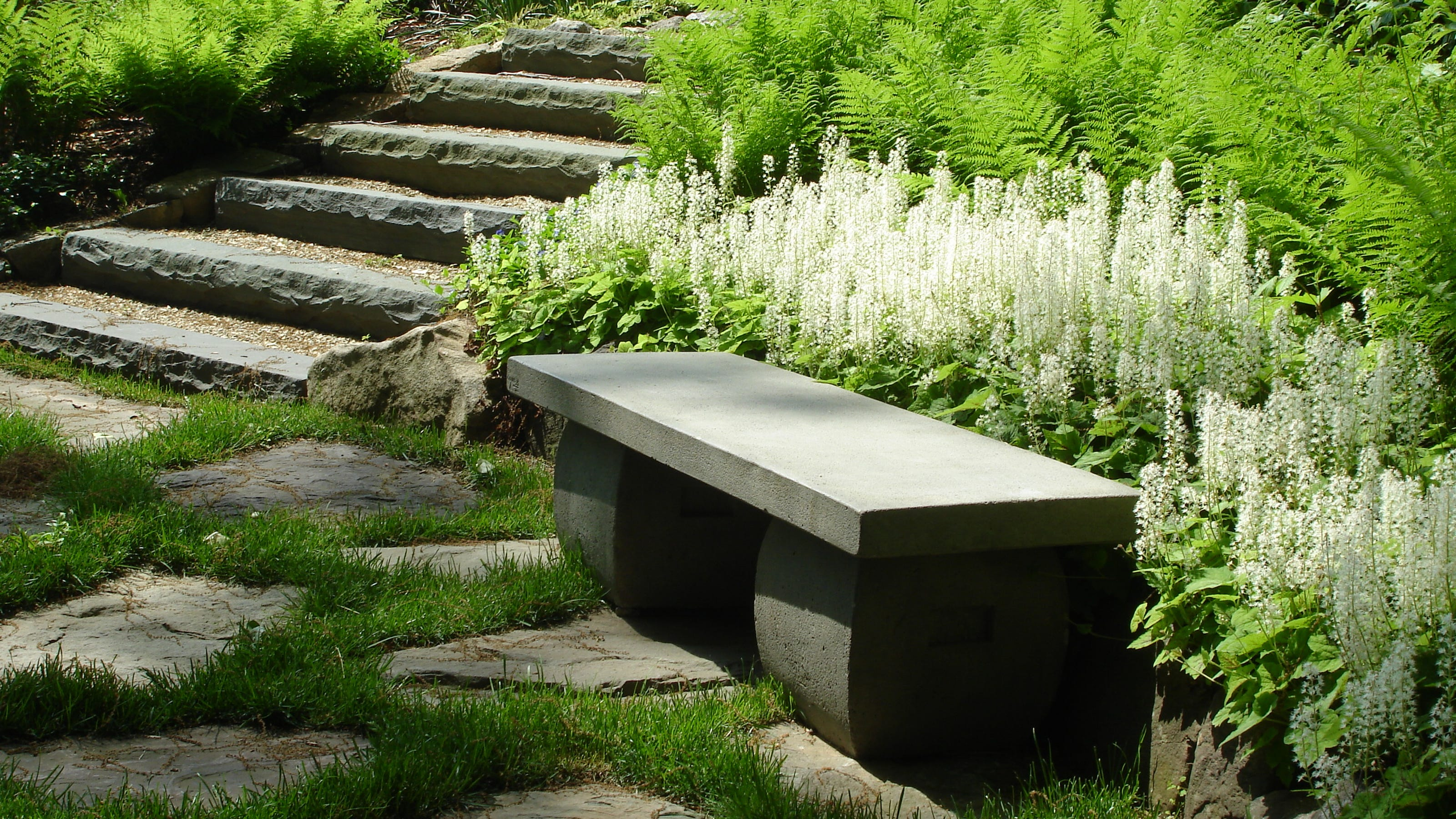 how to create a yoga garden