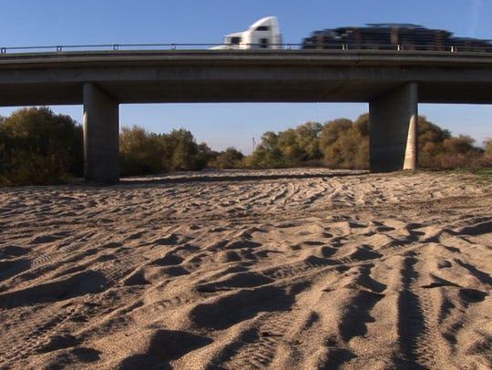 Dry San Joaquin Hwy