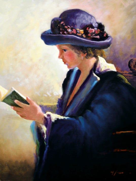 """""""The Reader"""" by Mario Parra."""