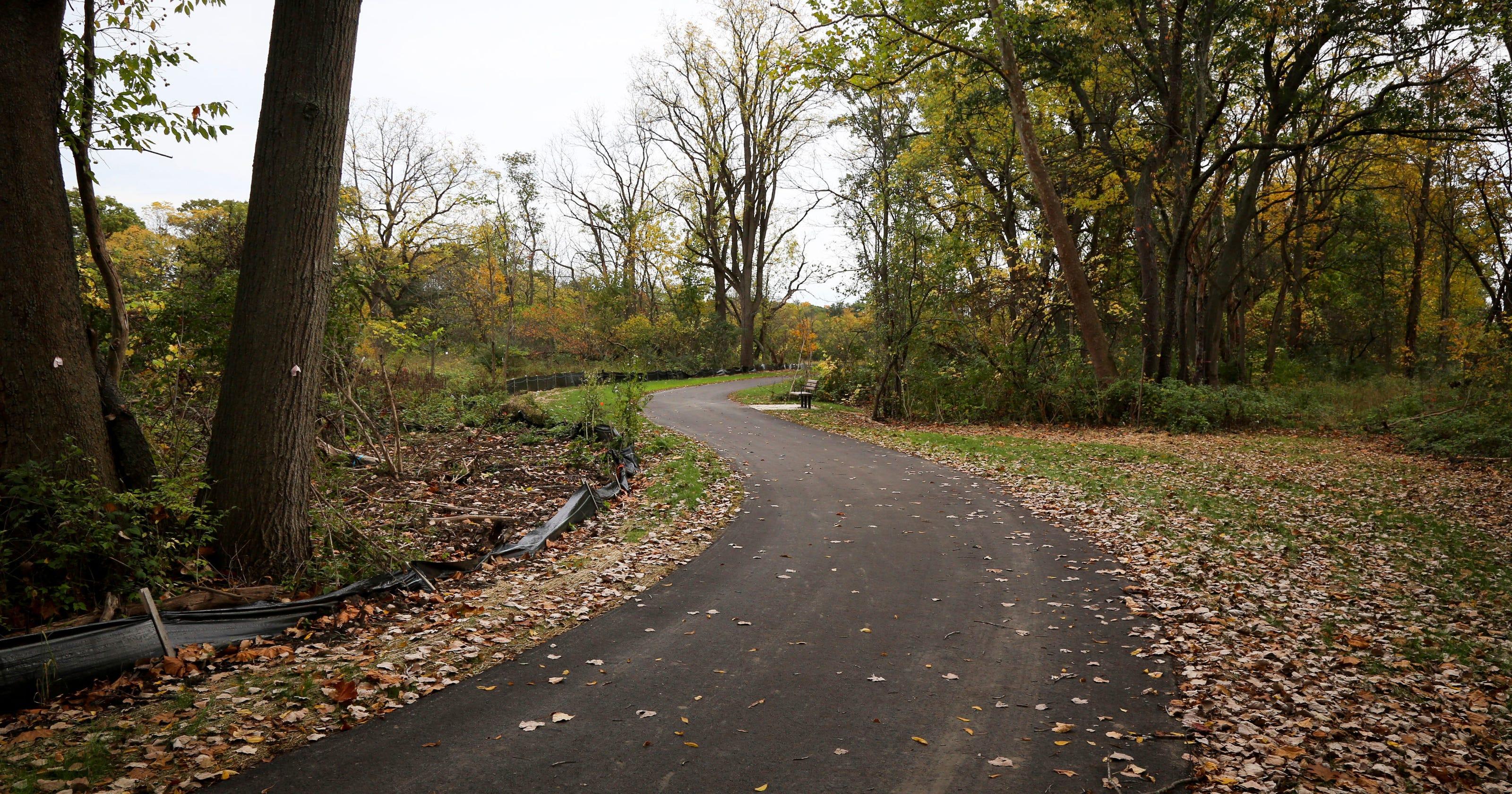 Hiking, biking path offers Matthaei Botanical Gardens link