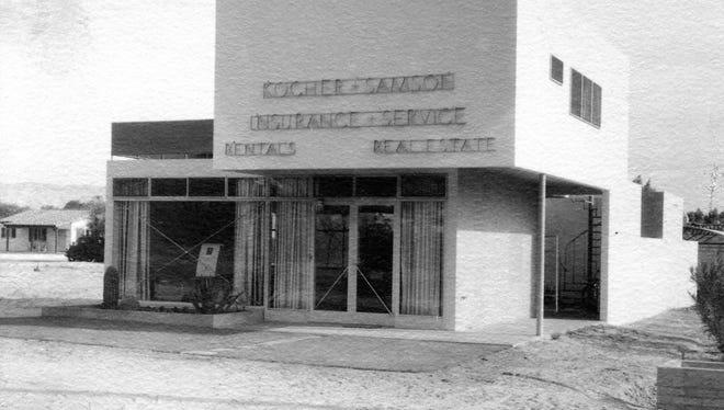 Kocher-Sampson building c. 1934.