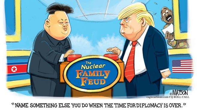 Donald Trump and Kim Jong-un On Nuclear Family Feud