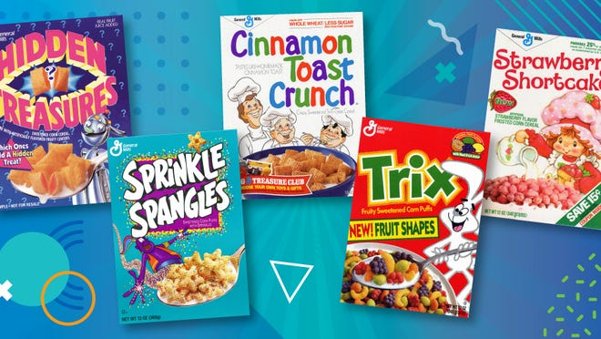 General Mills saw demand spike for cereal.