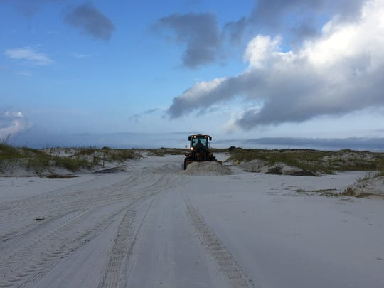 The Gulf Islands National Seashore sustained significant damage during Hurricane Nate. Crews are working to restore the area, but as of Oct. 10, the park remained closed.