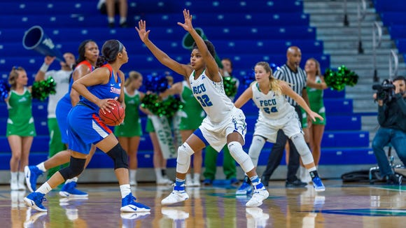 FGCU junior forward Rosemarie Julien is the Eagles' defensive stopper. But as her program-record 36 points at Stetson in Saturday's big win illustrated, she could become so much more.