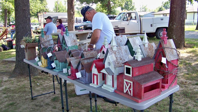A vender at a previous Gassville in the Park celebration.