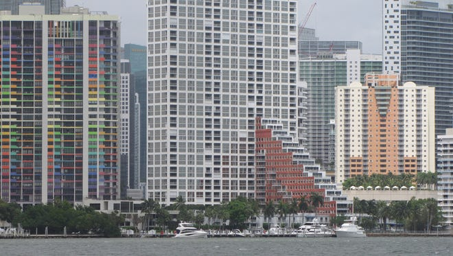 Mossack Fonseca, the Panamanian law firm at the heart of an international financial controversy over off-short corporations used to hide assets, used to list its Florida office in this residential building in downtown Miami. The firm no longer lists the address on its site.
