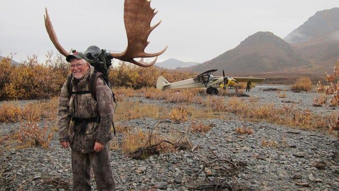 Randy Goza, a plaintiff in a $50 million lawsuit, in Alaska.
