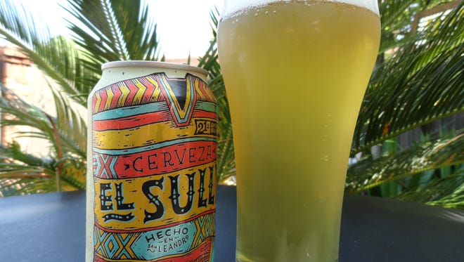 """21st Amendment Brewing's El Sully """"Mexican"""" Lager."""