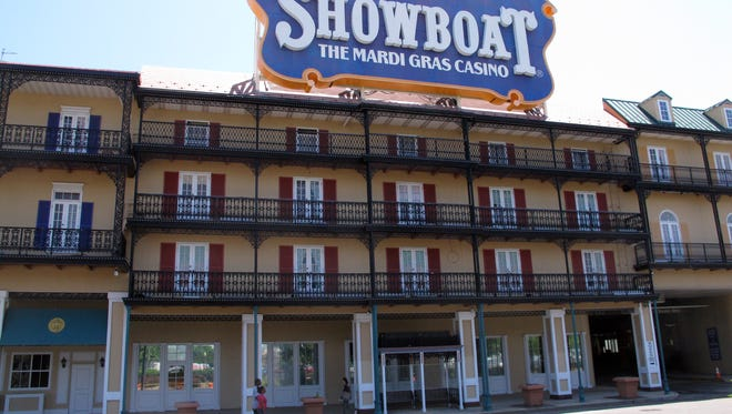 The shuttered Showboat casino hotel will reopen next month, as a non-gambling hotel.