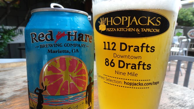 Red Hare Brewing Company's SPF 50/50.