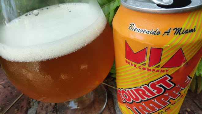 M.I.A. Beer Company's Tourist Trappe Belgian Tripel.
