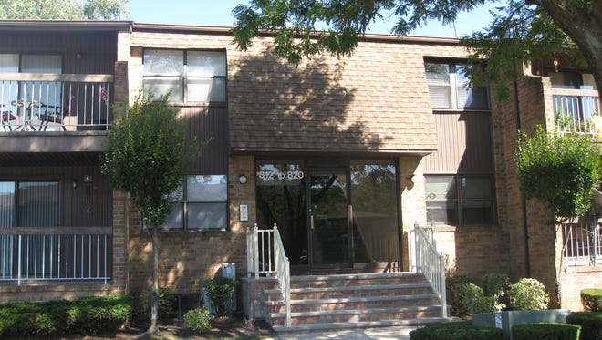 This one-bedroom condominum in Sharon Court  has an updated furnace, hot-water heater and central air conditioning. It's offed at $219,000.