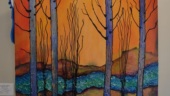 """Teresa Osburn, Zions Staircase Gallery, """"Wood Objects"""""""