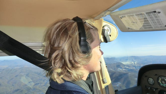Former competitive skier Kim Jochl overcomes her fear of flying by learning to fly a plane.
