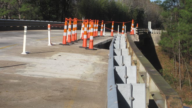 DOT crews hope to reopen the S.C. 20 connector bridge over U.S. 29 early next week.