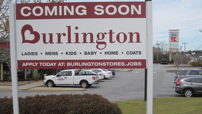 Burlington opened its new clothing store on Clemson Boulevard in Anderson on Friday.