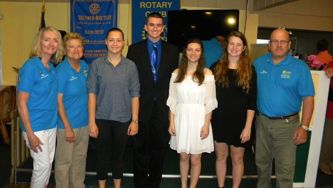 Pam O'Donnell, Jane Burton, Sabrina Beigel, Zachary Roch, Mary Hyde, Allison Fahey and Kevin Anderson
