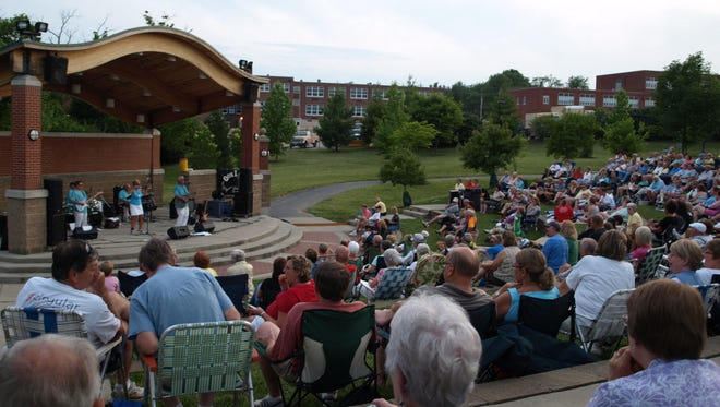 Concerts are a popular feature of the Colerain Township  Sizzlin' Summer Series at Colerain Park.
