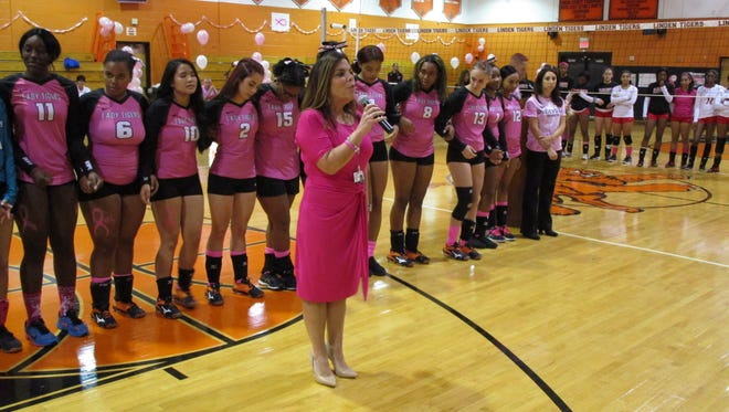 Linden Public Schools came together in October with creative and caring efforts to recognize Breast Cancer Awareness Month -- raising a total of over $4,000 to help victims and fund research.