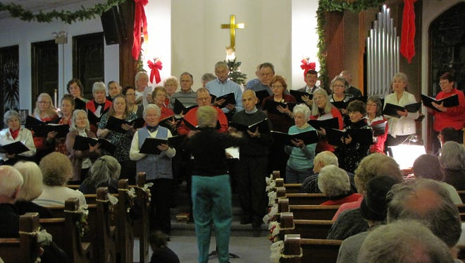 The Candor Community Chorus will be at Christ the King Presbyterian Church in Spencer on Dec. 3 at 6:30 p.m. for their annual concert and carol sing.