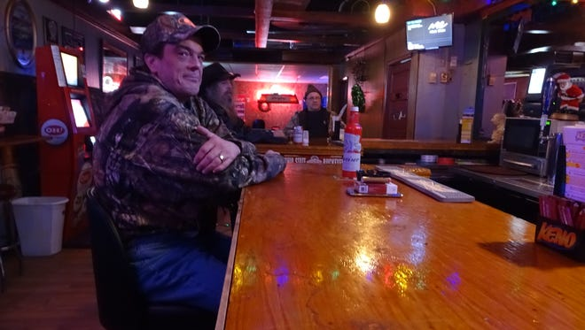 Shane May is a regular at Someplace Else Bar, 176 S. Main St., where he plans to spend his New Year's Eve.