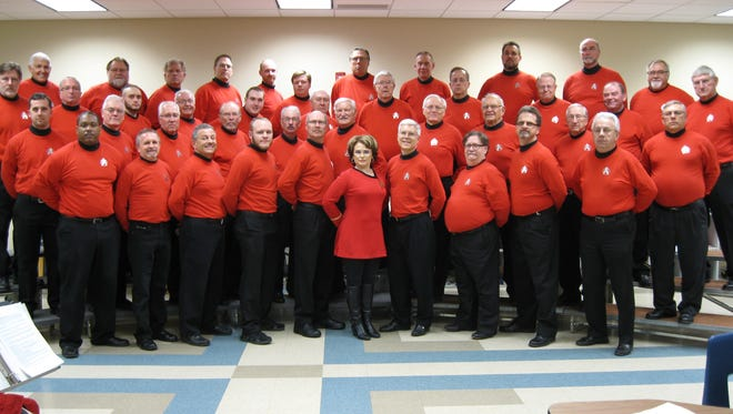 "The Fox Valleyaires Barbershop Chorus will perform its 74th annual show, ""Late Night with the Fox Valleyaires"" April 7 at Xavier Fine Arts Theatre in Appleton."