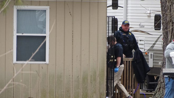 The MARMET Drug Task Force raided a property on Linn Hipsher Road Wednesday, where they found 84 marijuana plants, several grams of cocaine and marijuana wax, according to the Marion County Sheriff's Office.