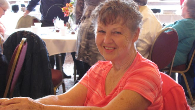 Donna Sims was among the volunteers honored this week at the Retired and Senior Volunteer Program.