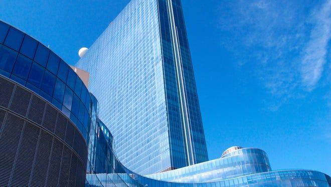 This April 26, 2018, file photo shows the exterior of the Ocean Resort Casino in Atlantic City, N.J.