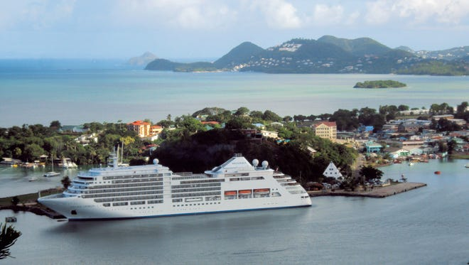 You can get a burger day or night on Silversea's ships.