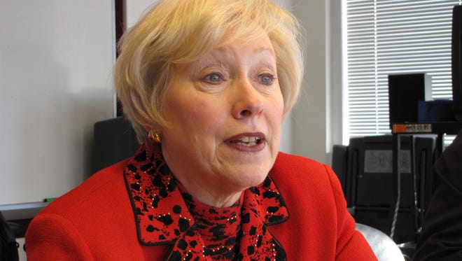 SUNY Chancellor Nancy Zimpher was in Washington Tuesday to meet with White House officials.