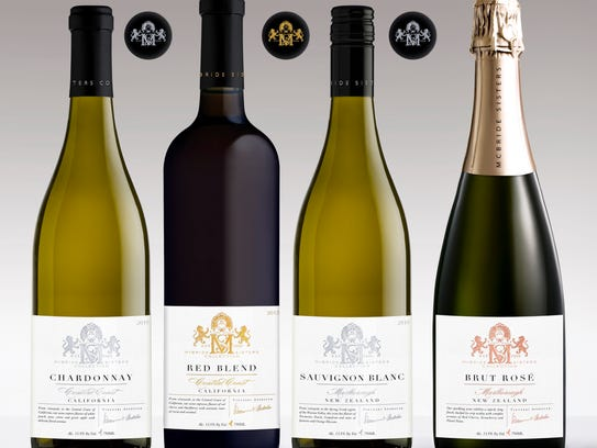 Wines in the McBride Sisters Collection, introduced