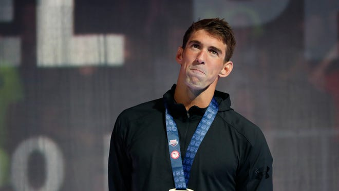 Michael Phelps turned 31 Thursday and was back competing at the U.S. Olympic Swim Trials in the 200-meter IM.