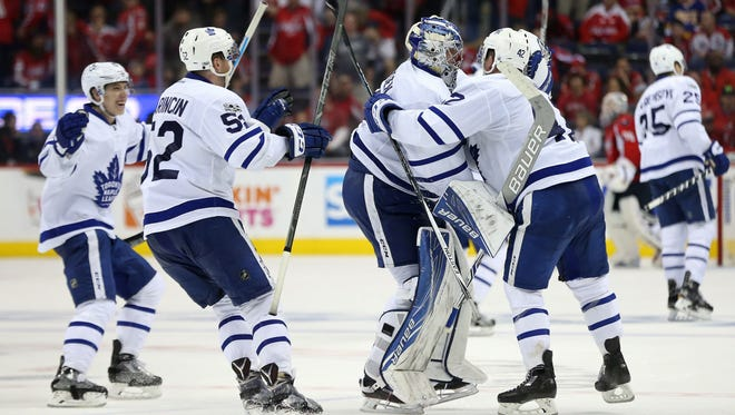 The Toronto Maple Leafs are playing in their first playoff series since 2013.
