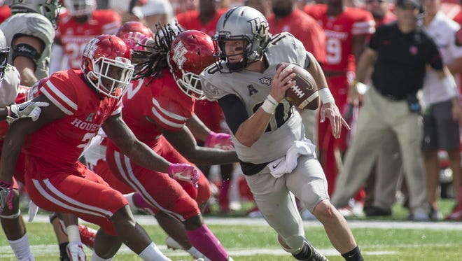 UCF is looking to rebound from tough loss to Houston last weekend.