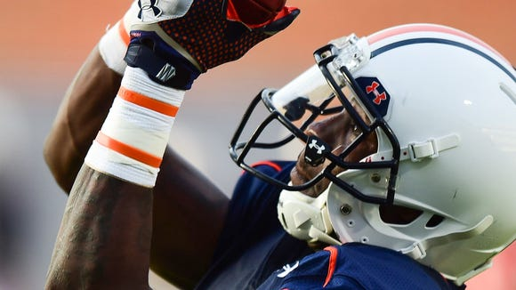 D'haquille Williams hasn't caught a game in a regular season for Auburn, but could wind being the top receiver for the Tigers in 2014.