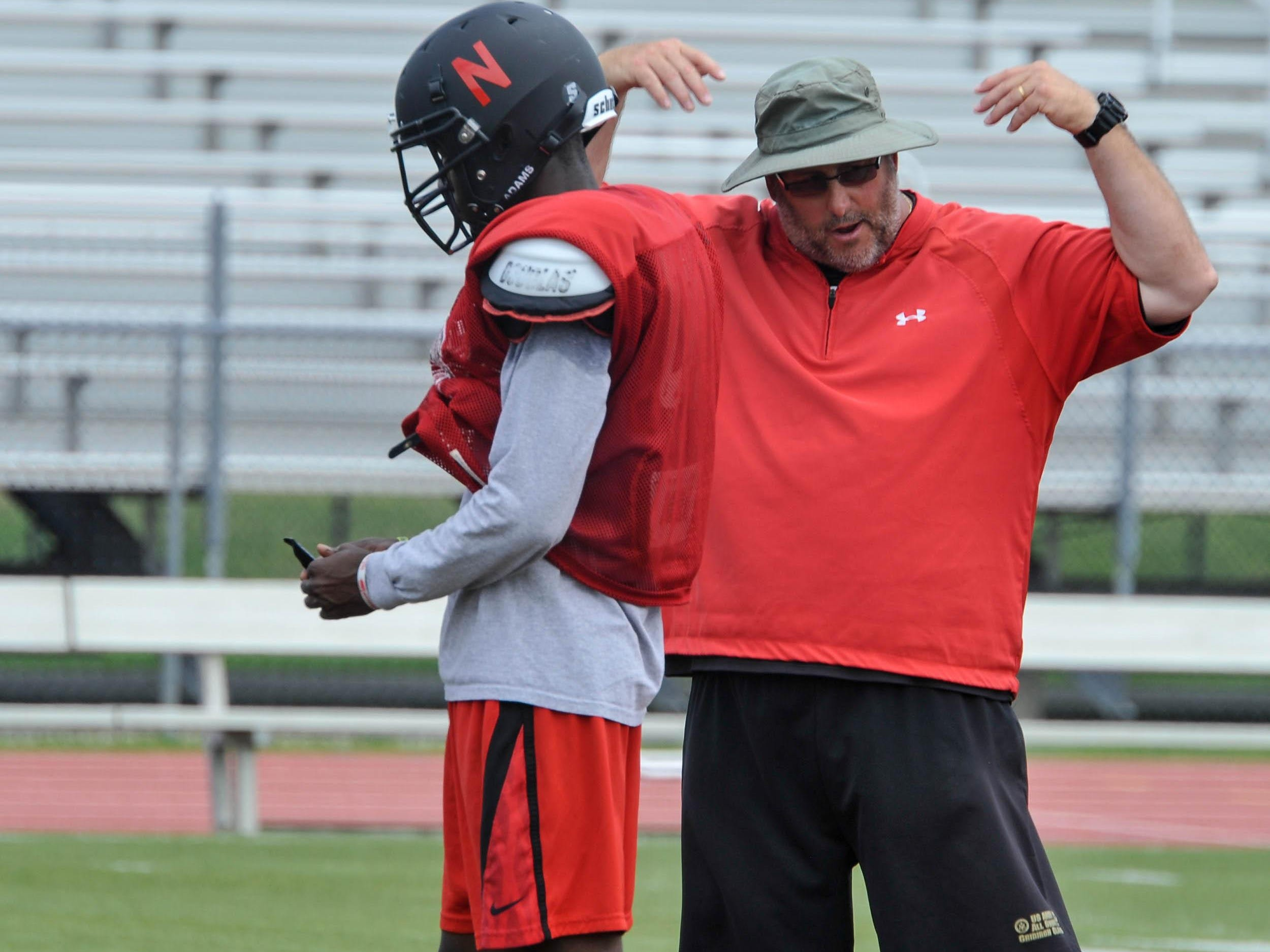Mark Ciccotelli, shown coaching Neptune in 2013, is apparently out as head football coach at St. John Vianney, according to an e-mail obtained by the Asbury Park Press Saturday