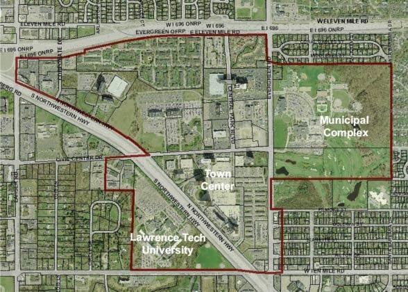 Will Southfield evolve into a college town