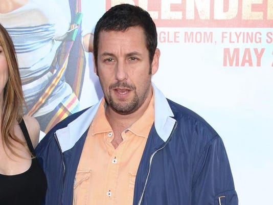 Adam Sandler gets closer to kids with co-star