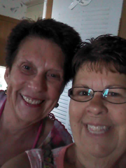 Ayers McClintock, a Sun City West grandma killed in a golf-cart accident, with her sister and closest friend, June.