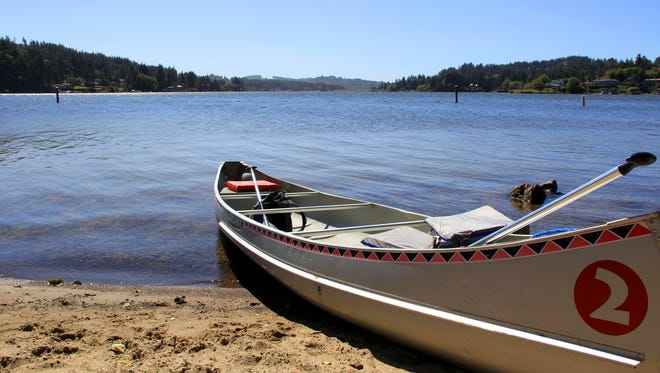Devils Lake in Lincoln City will host a Family Fishing event Saturday.