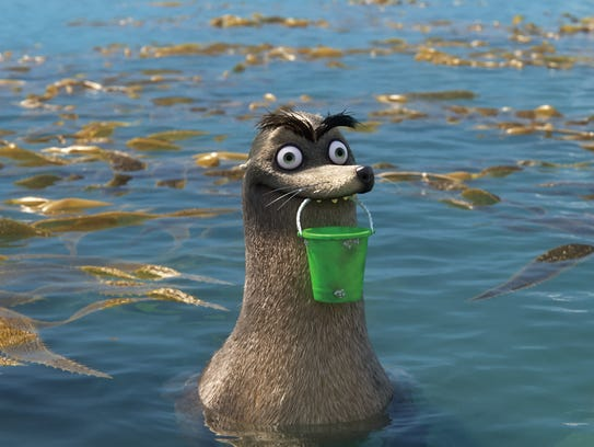 Gerald the sea lion in 'Finding Dory.'