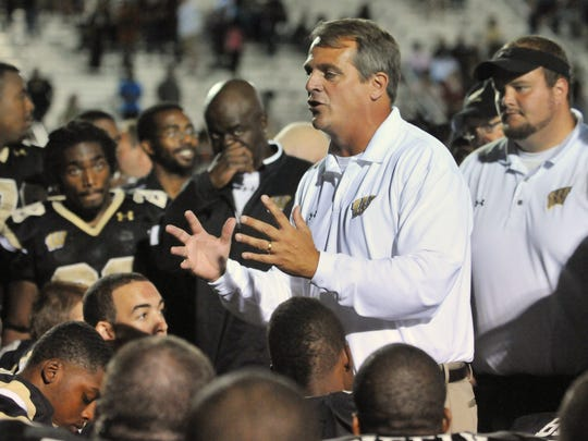 FILE – Former Warren Central coach John Hart is back in the Indy-area after taking the Brownsburg job.
