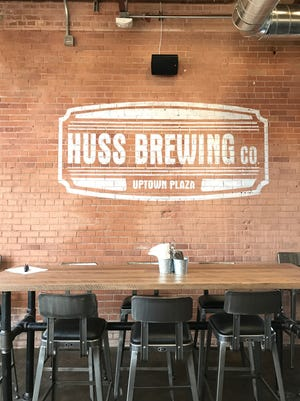 The new Huss Brewing Co. at Uptown Plaza in Phoenix opened Friday, April 14, 2017.