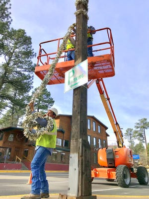 Taking over as the wrap comes lower is Omar Lerma with Ruidoso parks and recreation.