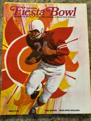 The 1971 Fiesta Bowl game program.