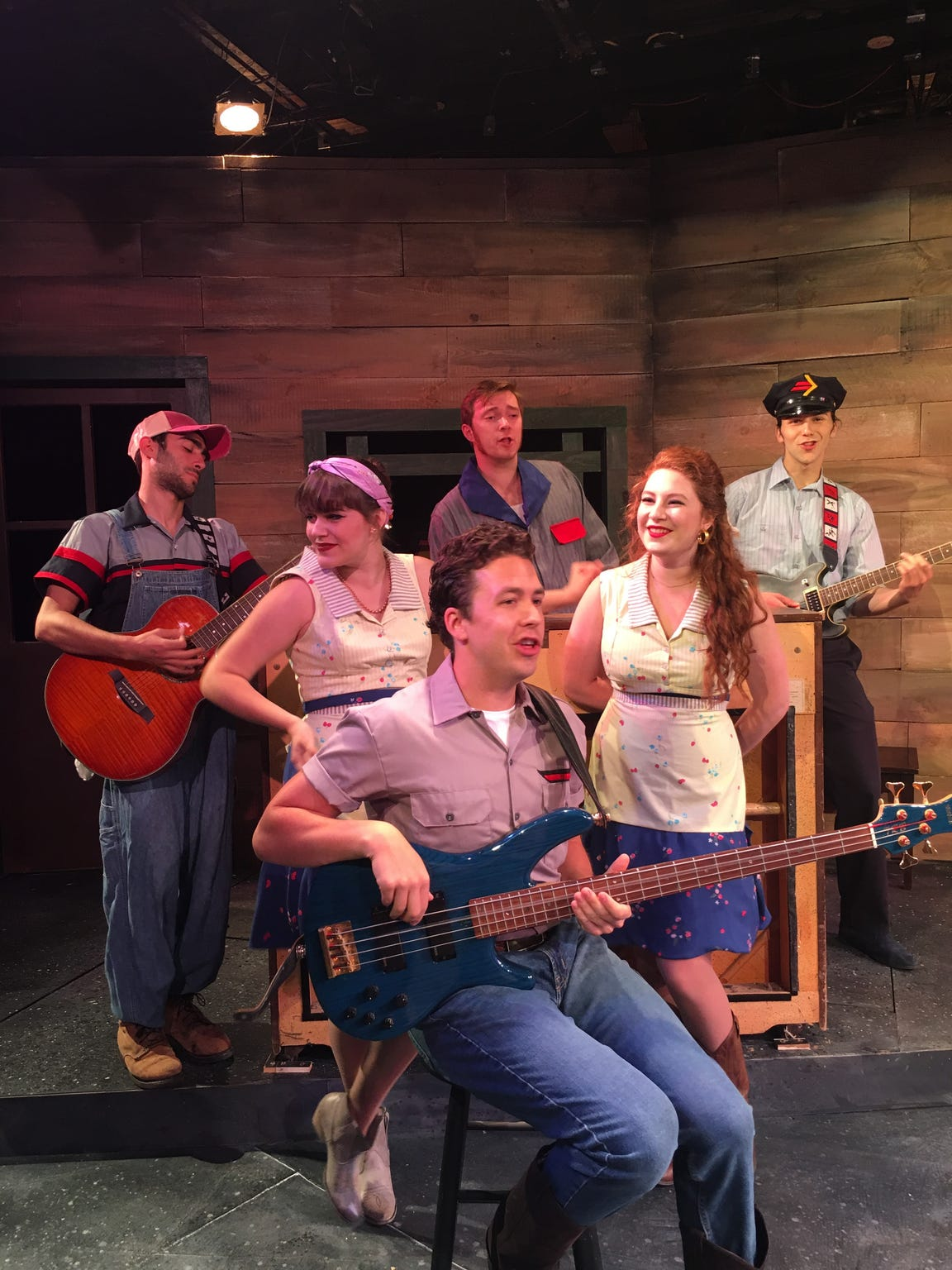 "The musical ""Pump Boys & Dinettes"" was the final production from Cider Mill Playhouse at its longtime Nanticoke Avenue home in Endicott in August 2017"