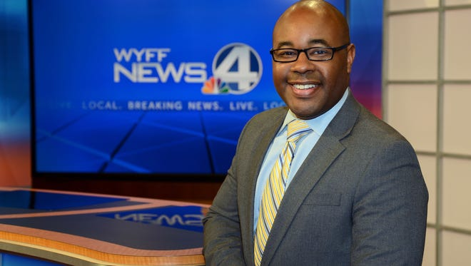 Nigel Robertson is a news anchor for WYFF TV.